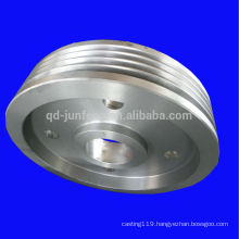 Customized big sizes steel belt wheel pulleys