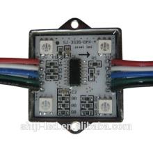 CE RoHS WS2801 Artnet DMX512 contrôle 4leds 5050 smd pixel numérique étanche rgb led module