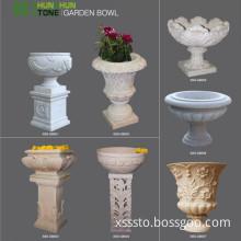 China Manufacture Granite Planter Garden Flower Pot