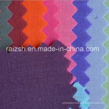 Tingimento de tecidos de algodão de poliéster para bolsas de vestuário e Bagslining T / C