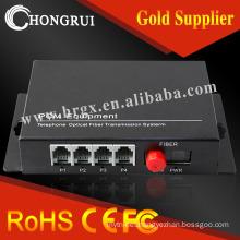 4 fxs/fxo port voip gateway voice fxs/fxo pots fiber multiplexer pcm multiplexer
