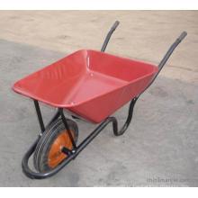 Modelo popular na espessura 0.7-1.2mm Wb3800 do carrinho de mão de roda do mercado de África