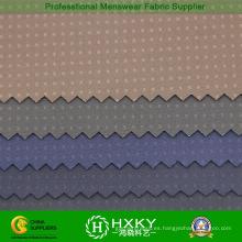 Compuesto de tela de poliéster Spandex con DOT Dobby para chaqueta