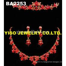Простой дизайн кристалл ожерелье