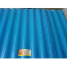Baustoffe gewelltes Stahlblech / Metalldachblech