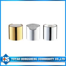 Tampas plásticas de torção de alumínio para o tampão superior do disco das garrafas