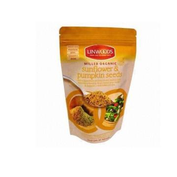 Логос клиента напечатанный resealable полиэтиленовый пакет для упаковки семени завода