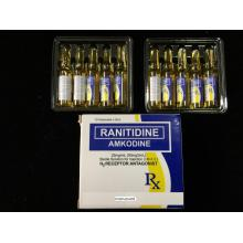 OEM/ODM for Metoclopramide Drug Ranitidine Injection BP/USP 50mg/2ml supply to Central African Republic Suppliers