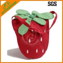 Neue Design-nette kundengebundene Baumwollschultertasche