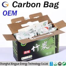 Original Equipment Manufacture (OEM) 50g / 100g / 200g / 300g / 500g aktiviert Bambus Tasche / Bambus Kohle Tasche
