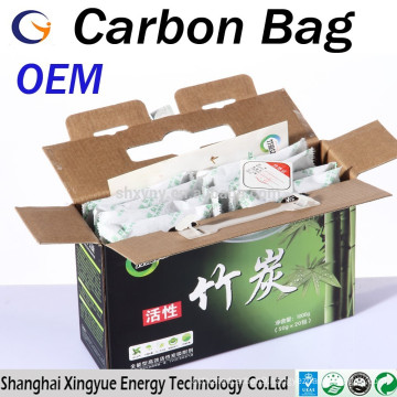Original Equipment Manufacture(OEM) 50g/100g/200g/300g/500g activated bamboo bag/bamboo charcoal bag