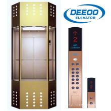 Elevador de elevador panorâmico comercial ao ar livre Deeoo