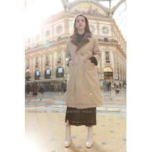 Wanita Reversible Parka Mink Fur Coat