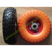 PU foam wheel size 10*3.50-4