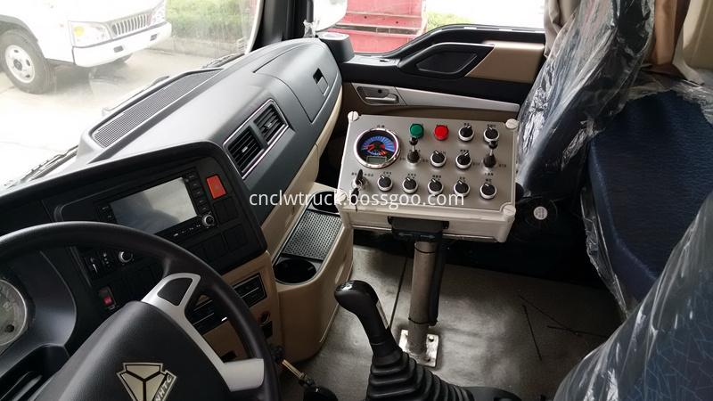 vacuum road sweeper truck 8