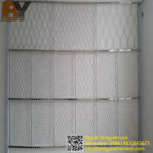 Stainless Steel Rope Mesh Green Wall
