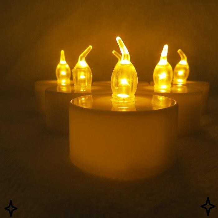 Flameless Led Tealight Candle