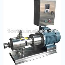 Misturador de cisalhamento inline de aço inoxidável sanitário Qualidade assegurada