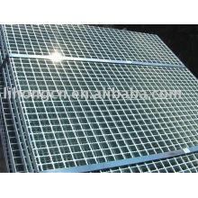 Steel grating platform, serrated steel bar grating