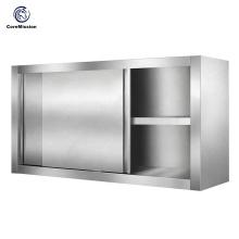 Gabinete de cocina de restaurante comercial colgante de pared 304