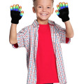 Children Gloves Colorful Bright Lights Led Glowing Gloves