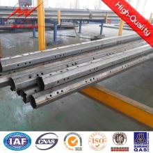 Polos de serviço público de aço galvanizados revestimento do pó com braço transversal