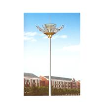 Poste de mástil de 30 m de altura con sistema de elevación para zona de juegos
