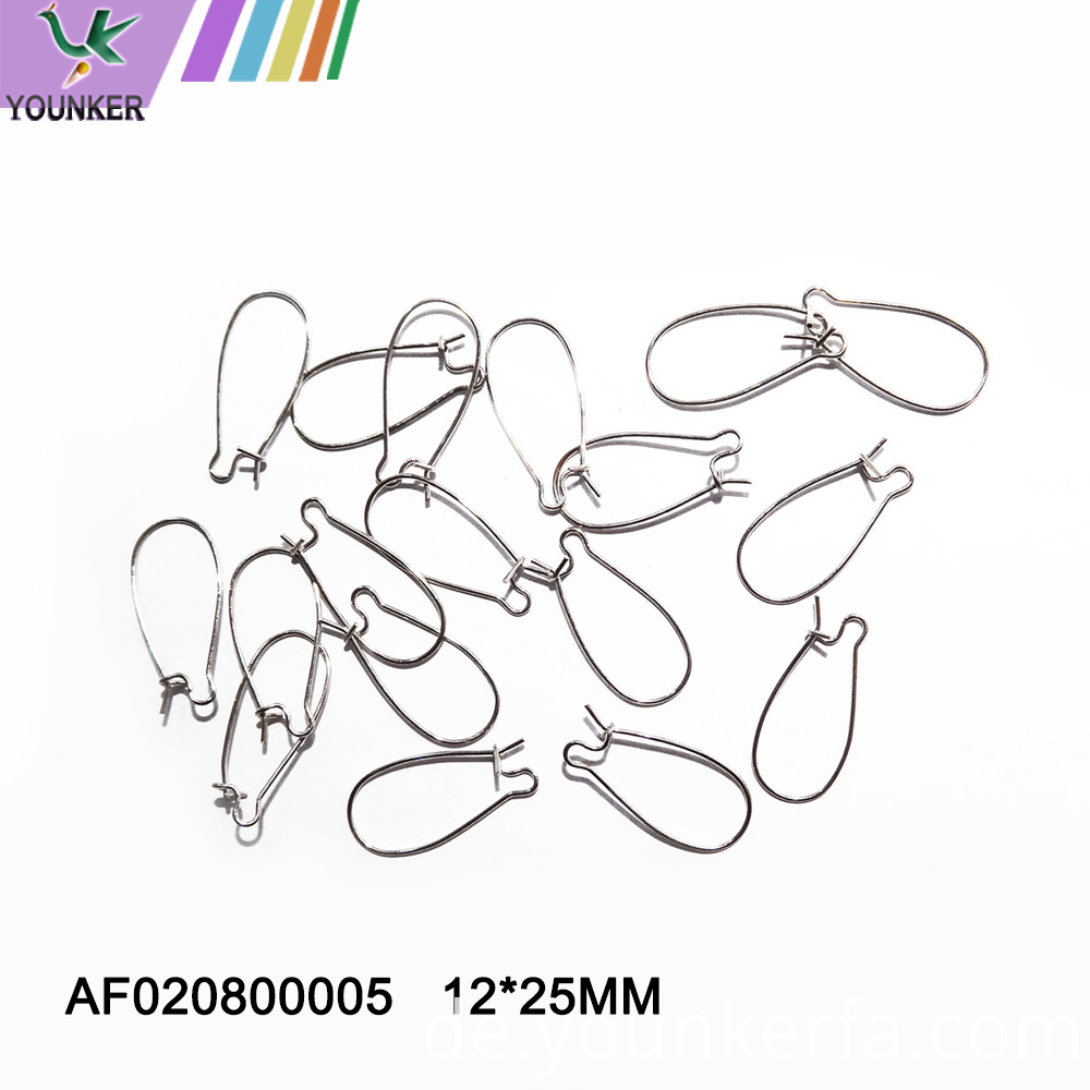 Wholesale Different Design Silver Plated Earring Hook