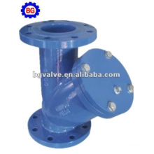 Y strainer flange Connection
