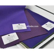 High end light lycra wool purple suit fabric for stock service