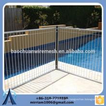 2465 mm * 1339 mm Hochwertige galvanisierte Schwimmbäder, Poolzaun, Poolsicherheitszaun