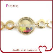 barato jóias pulseira de aço inoxidável