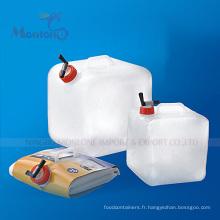 Transporteur de stockage d'eau portatif de 20L PE