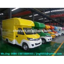 China Mini camión de alimentos Karry, mini camión de alimentos móviles para la venta