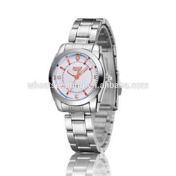 Корейский дизайн подарок девушки Женщины бренд пользовательских кварцевые часы