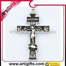 vente chaude pendentif croix noire