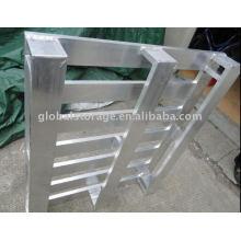 Palet de aluminio