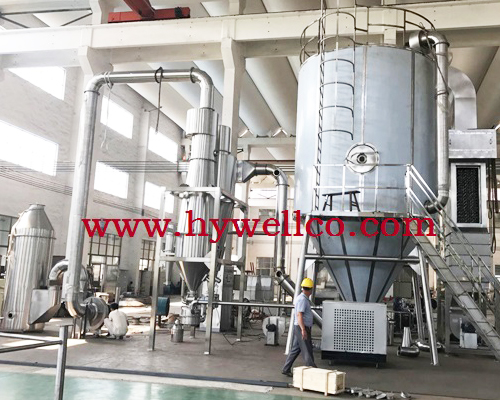 Cane Syrup Certrifugal Spray Dryer