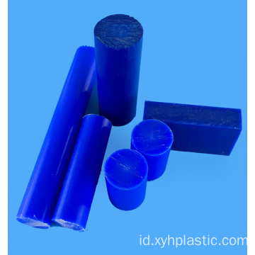 Batang Nylon 50mm Putih Biru PA66 Bar
