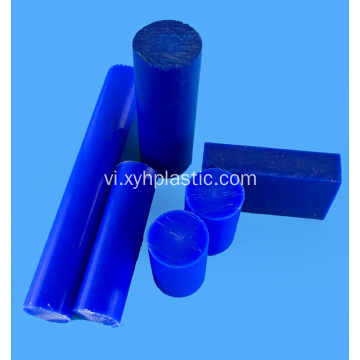Nylon Rod 50mm trắng Blue PA66 Bar