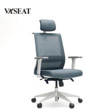 Gute Qualität schlichtes Design PU Leder High Back Bürostuhl Bürostuhl Drehstuhl für Konferenzraum