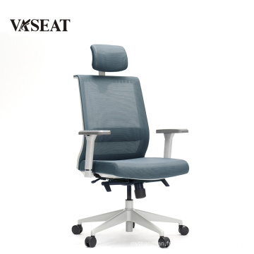Good quality simple design PU leather high back office chair task chair swivel chair for conference room