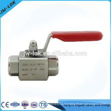 High pressure pipe fittings ball valve