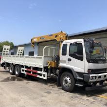 6x4 LHD Euro 5 Boom Crane Truck Crane