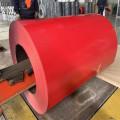 Hochglänzende farbbeschichtete Stahlspule