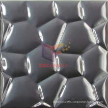 Black 304 Stainless Steel Mosaic Tiles (CFM888)