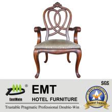 Star Hotel Europäische Stil Hölzerne Stuhl Designs (EMT-AP023-807)