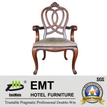 Design de cadeira de madeira de estilo europeu Star Hotel (EMT-AP023-807)
