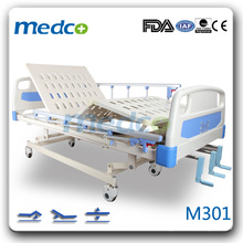 M301 Hospital room three cranks bed