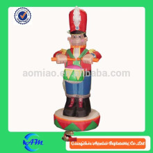 inflatable holiday decoration inflatable cartoon for advertising inflatable drummer